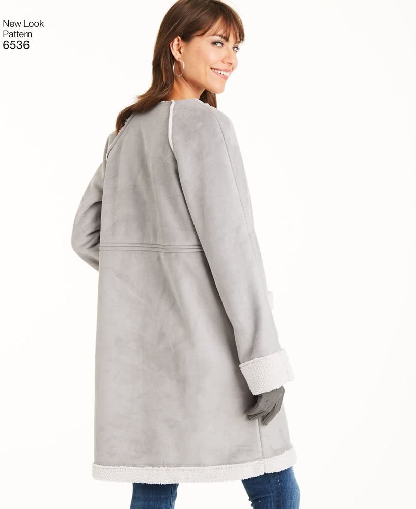 NEW LOOK Ladies Easy sewing pattern 6536 Coats dans Two Lengths NEWLOOK - 6536