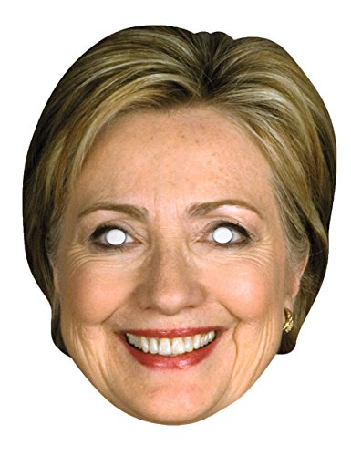 Forum Novelties Hillary Clinton Celebrity Politician Card Face Paper Mask -
