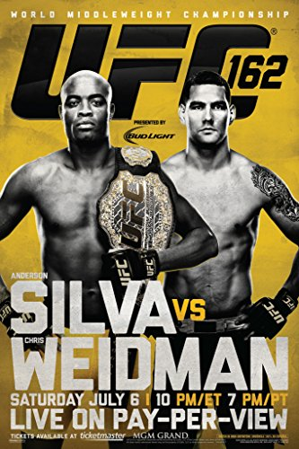Used, Pyramid America Official UFC 162 Anderson Silva vs for sale  Delivered anywhere in USA