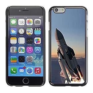 Paccase / SLIM PC / Aliminium Casa Carcasa Funda Case Cover - Space shuttle - Apple Iphone 6 Plus 5.5