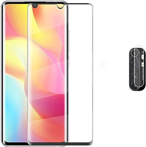 Image of Protector de Pantalla Xiaomi Mi Note 10 Lite Cristal Templado [9H Dureza][Alta Definición][Fácil de Instalar] para Xiaomi Mi Note 10 Lite (1 Piezas)