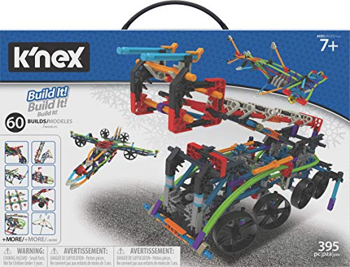 K'nex Intermediate 60 Model Building Set - 398 Parts - Ages 7 & Up - Creative Building Toy from K'nex