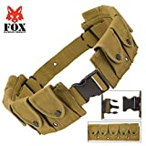 Fox Outdoor Products Military Belt, Olive Drab