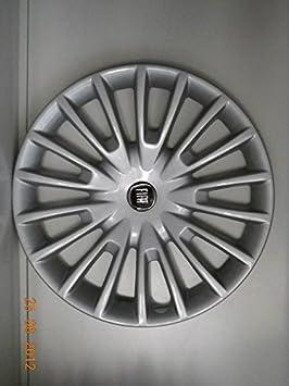 Juego de Tapacubos 4 Tapacubos Diseño de Fiat Bravo Dynamic Elegance Desde 2007 r 16: Amazon.es: Coche y moto