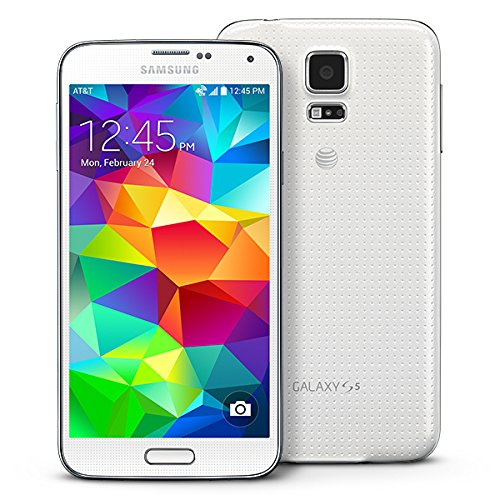 Galaxy S5 G900A Factory Unlocked Android Smartphone 16GB White
