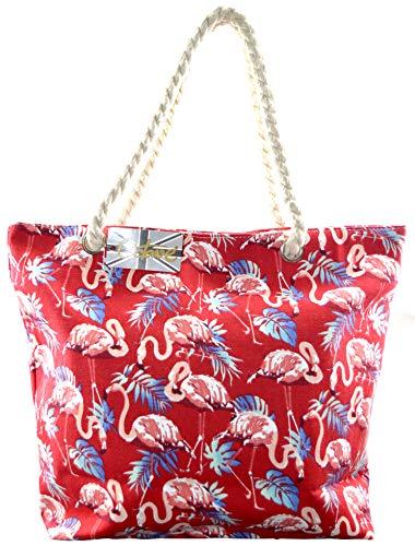 Borsa spiaggia Design Donna Red Octave da Flamingo SEHqxwdF