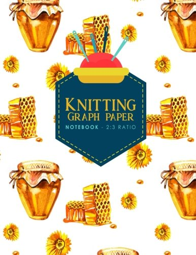 Read Online Knitting Graph Paper Notebook - 2:3 Ratio: Knitters Journal, Knitting Design Grid, Knitting Graphs (Volume 10) ebook