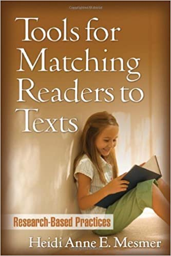 Tools for Matching Readers to Texts: Research-Based Practices (Solving Problems in Teaching of Literacy) by Mesmer PhD Heidi Anne E. (2007-11-16)