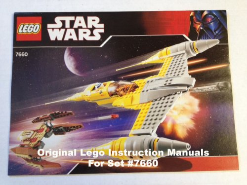 Amazon Instruction Manuals For Lego Star Wars Set 7658 Y Wing