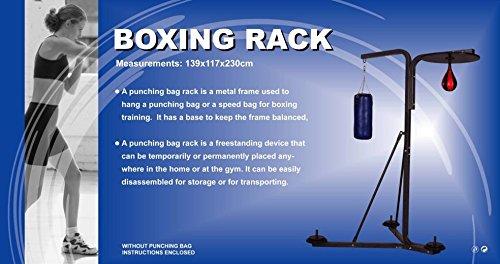 BOLLINGER.ES Soporte para Saco y Punching -Boxeo(no Incluye Saco) IBER-COMPLEX