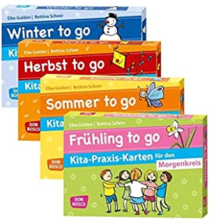Frühling to go Kita-Praxis-Karten für den Morgenkreis Don Bosco Kita ...
