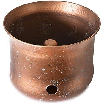 LifeSmart Copper Garden Hose Holder Pot