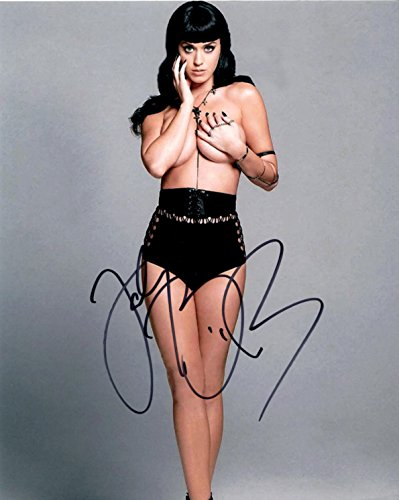 Katy Perry Signed 8x10 Music Photo, Singer, Songwriter, Pop, Rock, Music, Musician