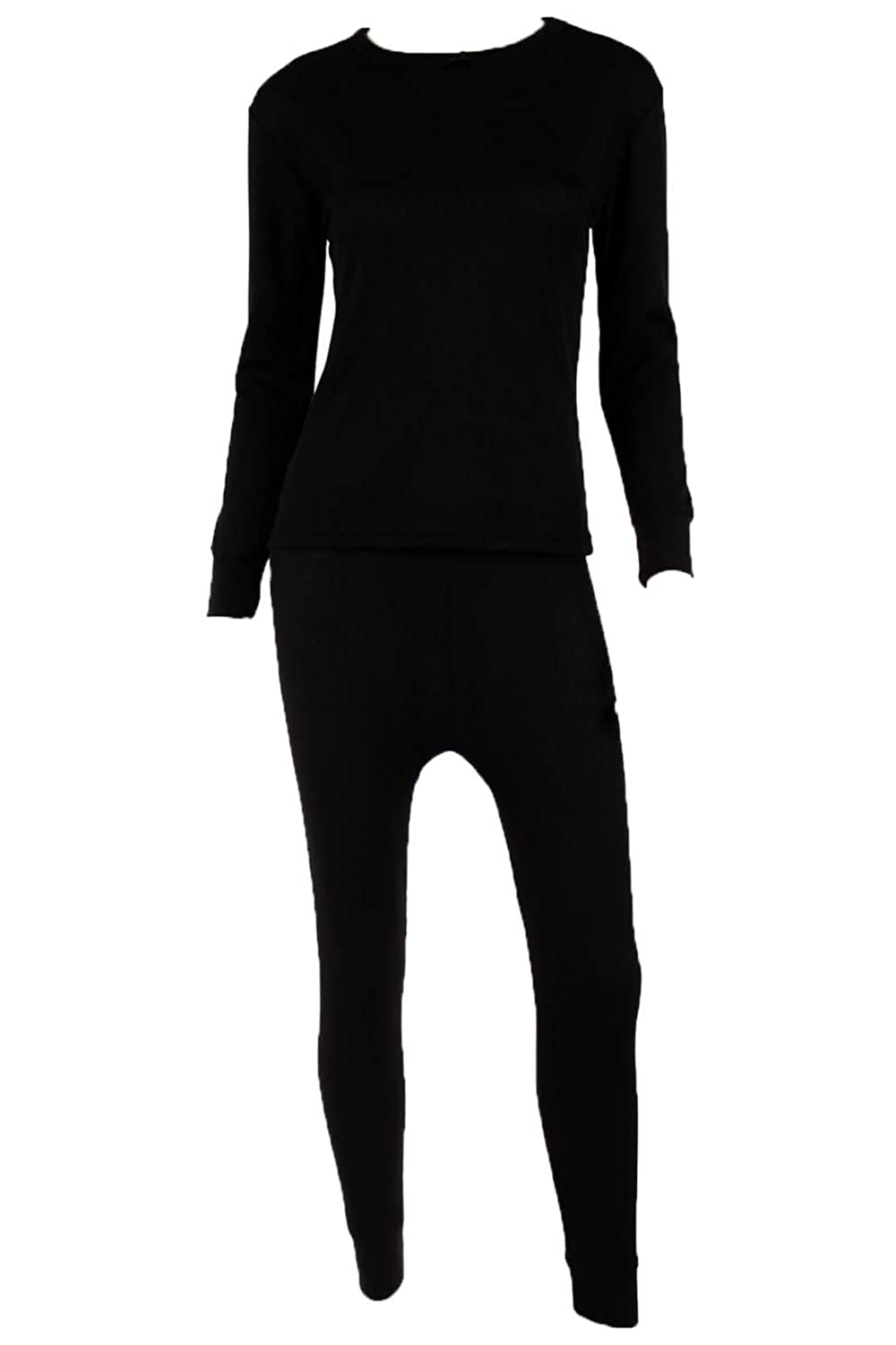 WUHOU Womens 100/% Cotton Thermal Underwear Two Piece Long Johns Set WOMCOTHERMALSIZCOL