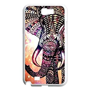 Elephant DIY Durable Hard Plastic Case Cover LUQ258739 For Samsung Galaxy Note 2 N7100