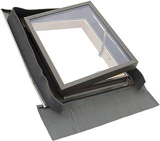 Solstro Mehrzweckfenster, Dachausstieg, Kaltraumfenster - für nicht beheizte Räume 45x73 cm - Dachluke, Ausstieg, Dachfenster für Schornsteinfeger, Beleuchtung und Lüftung