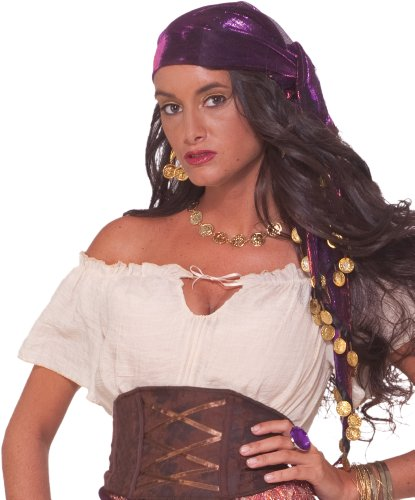 Forum Novelties Mystic Fortune Teller Gypsy Scarf