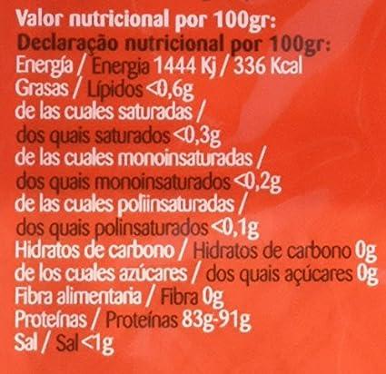Iggy´s Gelatina Neutra en Láminas - Paquete de 10 x 10 gr ...