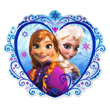[Disney Frozen Elsa & Anna Placemat] (Disney Frozen Placemat)