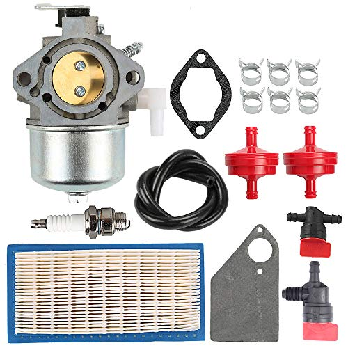 ATVATP 694526 Carburetor for Briggs & Stratton 690119 690118 690115 690111 499029 Lawn Mower Tractor 10HP Engine Gererac PowerBoss 5500 Generator & 691643 Air Filter