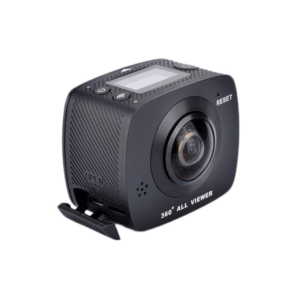 QPZYB 720VR Panoramic Camera 4K HD dual Lens 3D Effect Sports Camera travel Outdoor 360 Sports Camera
