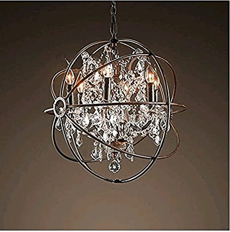 Qwer pendant ceiling light lamp american iron art nouveau qwer pendant ceiling light lamp american iron art nouveau chandeliers staircase restaurant lounge cafe birdcage chandeliers aloadofball Image collections
