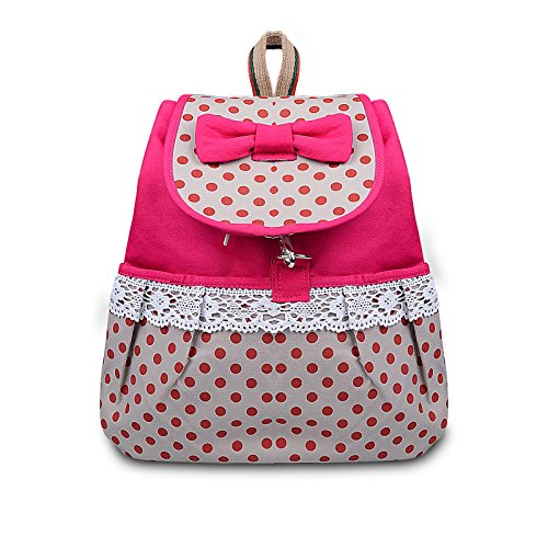 Phenas Bowknot Leisure Backpack Student