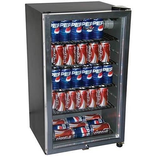 Haier HC125FVS - 125-Can Beverage Center, Black (Hc125fvs Haier compare prices)