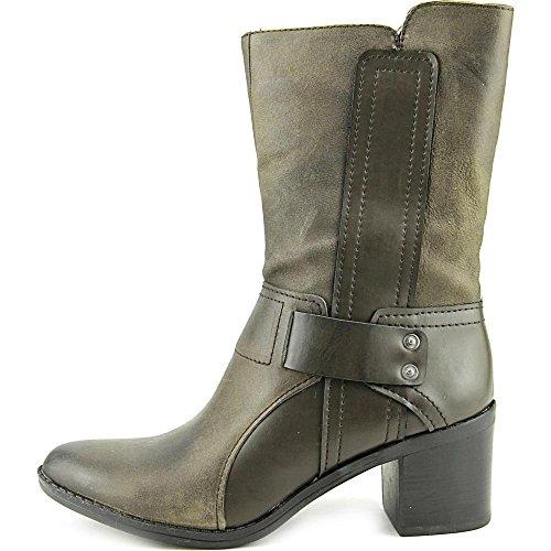 III Almond Grey Bar Womens Boots Calf Wade2 Mid Leather Toe Cowboy aIwqxvAdw