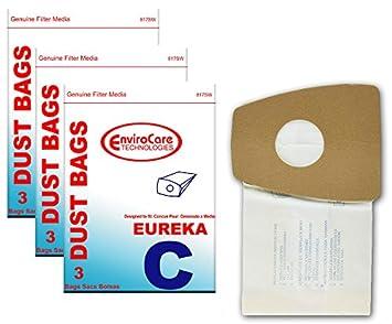 Amazon.com: Eureka Mighty antiácaros tipo C Single Pared ...