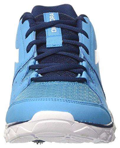 Diadora Hawk 7, Zapatos para Correr para Hombre Azul (Blu Fluo/bianco)