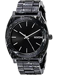 Nixon Womens A3272185 Time Teller Acetate Analog Display Japanese Quartz Multi-Color Watch