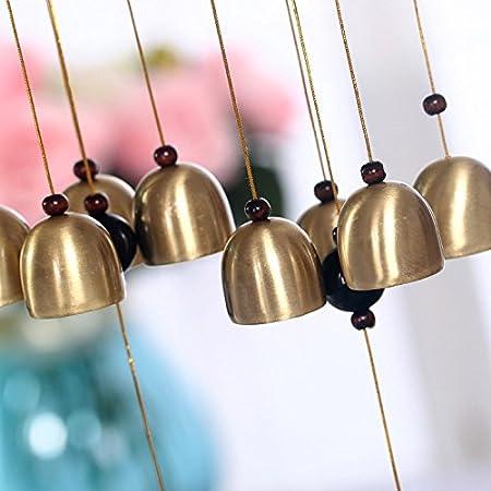 Windspiel Garten Windspiel Ornament Cutogain Glocken S zum Aufh/ängen Metall