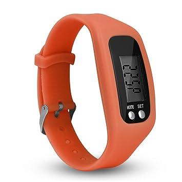 Zeeneek Fitness tracker montre, simplement un Fonctionnement Marche Course podomètre avec calories étapes et comptage