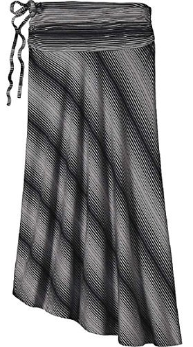 Patagonia Womens Kamala Skirt (Small, Reflection Stripe: Feather Grey)