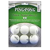 Ping Pong Brand 6-Pack 2-Star Table Tennis Balls (White)