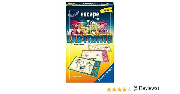 Ravensburger 20543 Escape The Labyrinth - Juego de Mesa (6 años): Haferkamp, Kai: Amazon.es: Juguetes y juegos