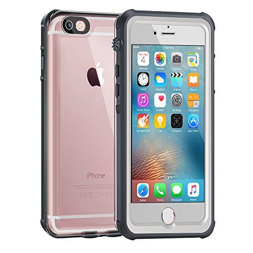 Cheap Cases Waterproof Case for iphone 6/6s [4.7-Inch Version]-ALOFOX Clear Retail Packaging White