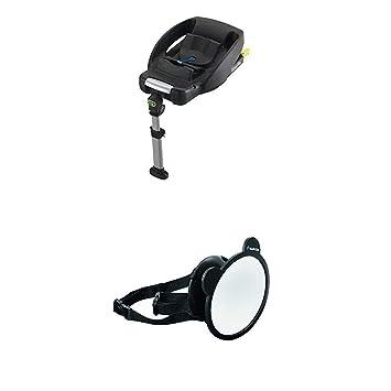 Maxi Cosi Easyfix Isofix Base Für Babyschale Cabriofix Schwarz Großer Baby Rückspiegel Für Alle Autos Autospiegel Sicherheitsspiegel Rücksitzspiegel Baby