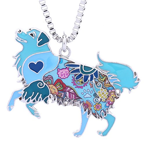 - Luckeyui Golden Retriever Gifts Pendant Necklace for Women Friend Novelty Animal Charm Jewelry
