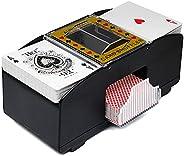 Automatic Card Shuffler Portable Poker Electric Shuffling Machine Battery Powered Card Shuffler for Home Tourn
