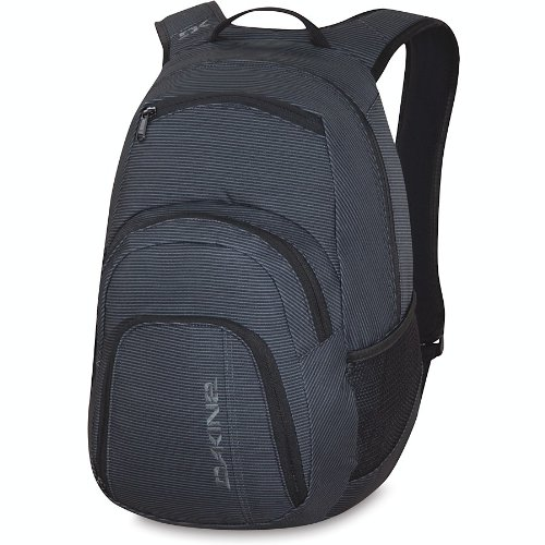 Dakine 25-Litre Campus Pack (Black Stripes, 18.5 x 12 x 9-Inch), Outdoor Stuffs