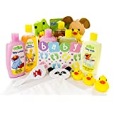 Bubble Bath Time Gift Basket for New Moms, Baby Showers...