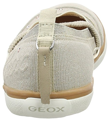 Geox Jr Kiwi Girl B - Bailarinas Niñas Beige - Beige (BEIGEC5000)