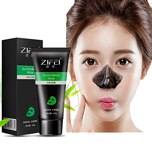 100% Pure Purifying Seaweed - Blackhead Remover Mask - MY LITTE BEAUTY - Active Charcoal Peel off Mask Acne Treatment