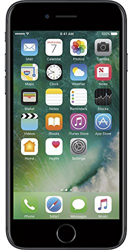 Apple iPhone 7 128GB Unlocked GSM 4G LTE Quad-Core Phone w/ 12MP Camera - (T-Mobile) Black