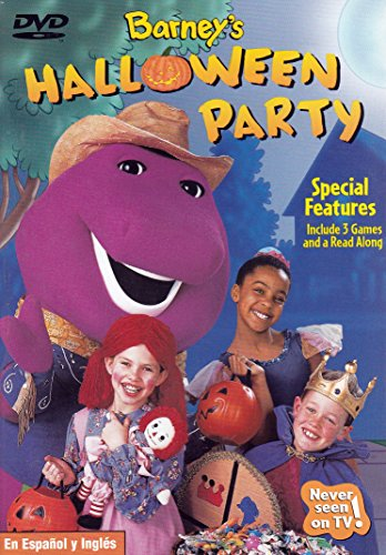 [Barney - Halloween Party] (Halloween Free Shipping)