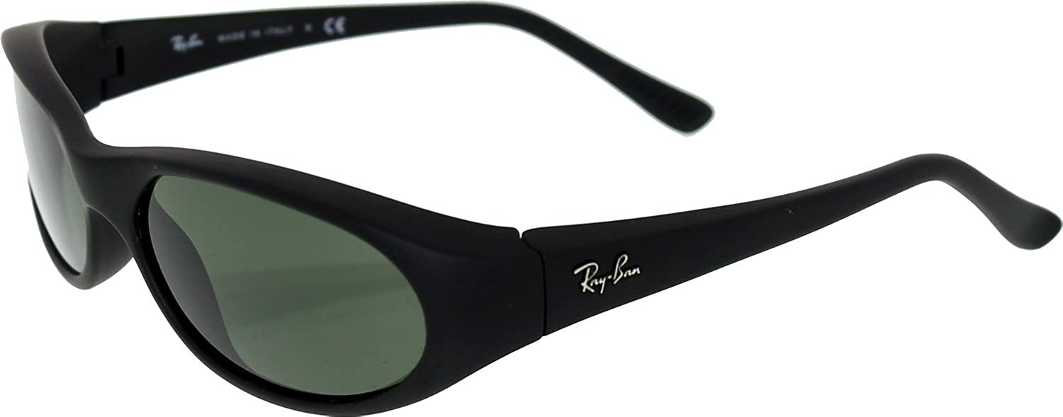 2376da51732 Amazon.com  Ray Ban RB2015 DaddyO Sunglasses-W2581 Matte Black (G ...