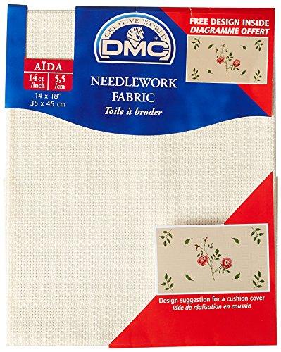 Ecru Aida Needlework Fabric 14 Count 14