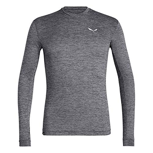 Salewa Herren Puez Melange Dry M L/S Tee Hemden & T-Shirts